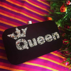Customized Clutch Maroon (Delivery time 3-4 Weeks)