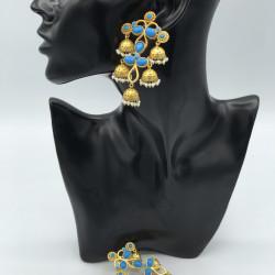 Feroza Earrings