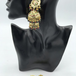 Jadau Jhumki Earrings