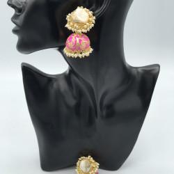 Baroque Jhumki Earrings