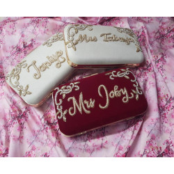 Customized Clutch with Embroidery (Delivery time 3-4 Weeks)