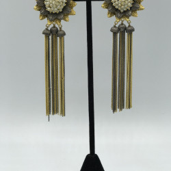 Florets Tassels Earrings