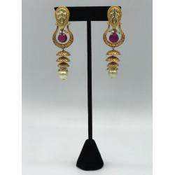 Claret Earrings