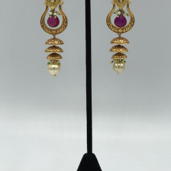Claret Earrings