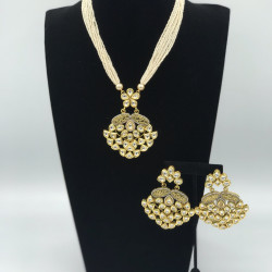 Snowdrop Kundan Necklace
