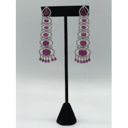 Steeple American Diamond Earrings