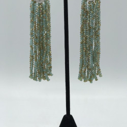 Hydrangea Tassels Earrings